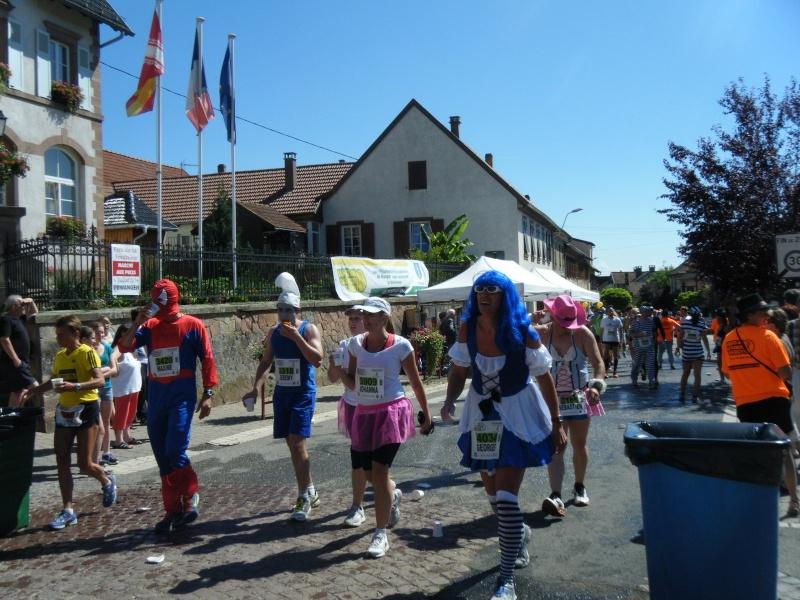 10 ème édition du Marathon du Vignoble d'Alsace et son passage à Wangen le 15 juin 2014 Dscf1029