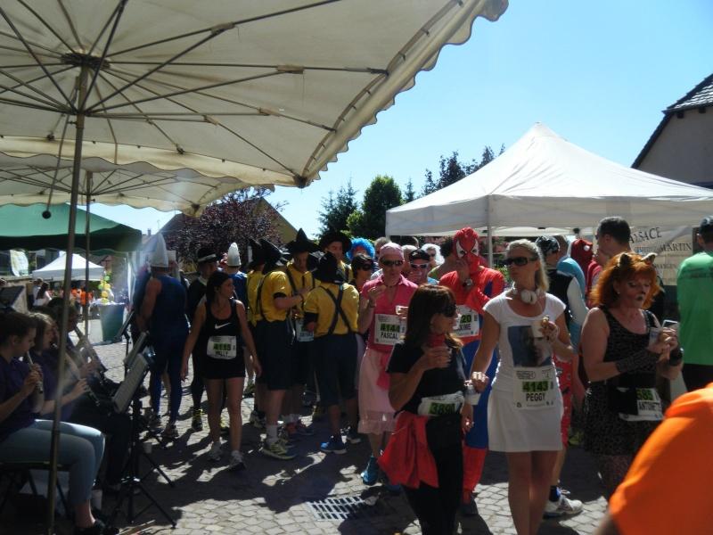 10 ème édition du Marathon du Vignoble d'Alsace et son passage à Wangen le 15 juin 2014 Dscf1035