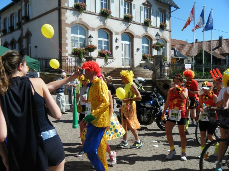 10 ème édition du Marathon du Vignoble d'Alsace et son passage à Wangen le 15 juin 2014 Dscf1114