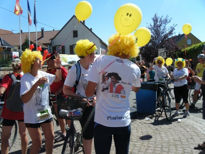 10 ème édition du Marathon du Vignoble d'Alsace et son passage à Wangen le 15 juin 2014 Dscf1115