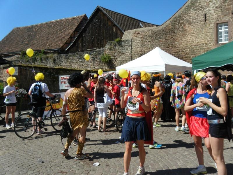 10 ème édition du Marathon du Vignoble d'Alsace et son passage à Wangen le 15 juin 2014 Dscf1116