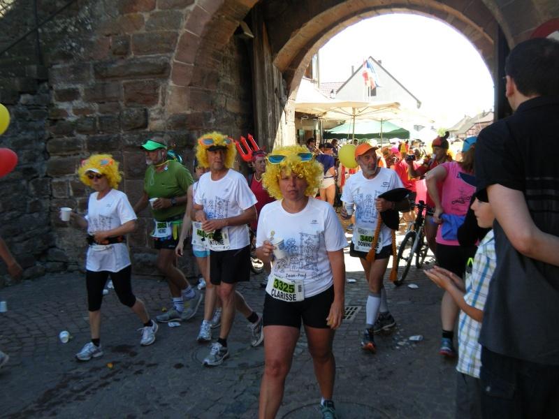 10 ème édition du Marathon du Vignoble d'Alsace et son passage à Wangen le 15 juin 2014 Dscf1118
