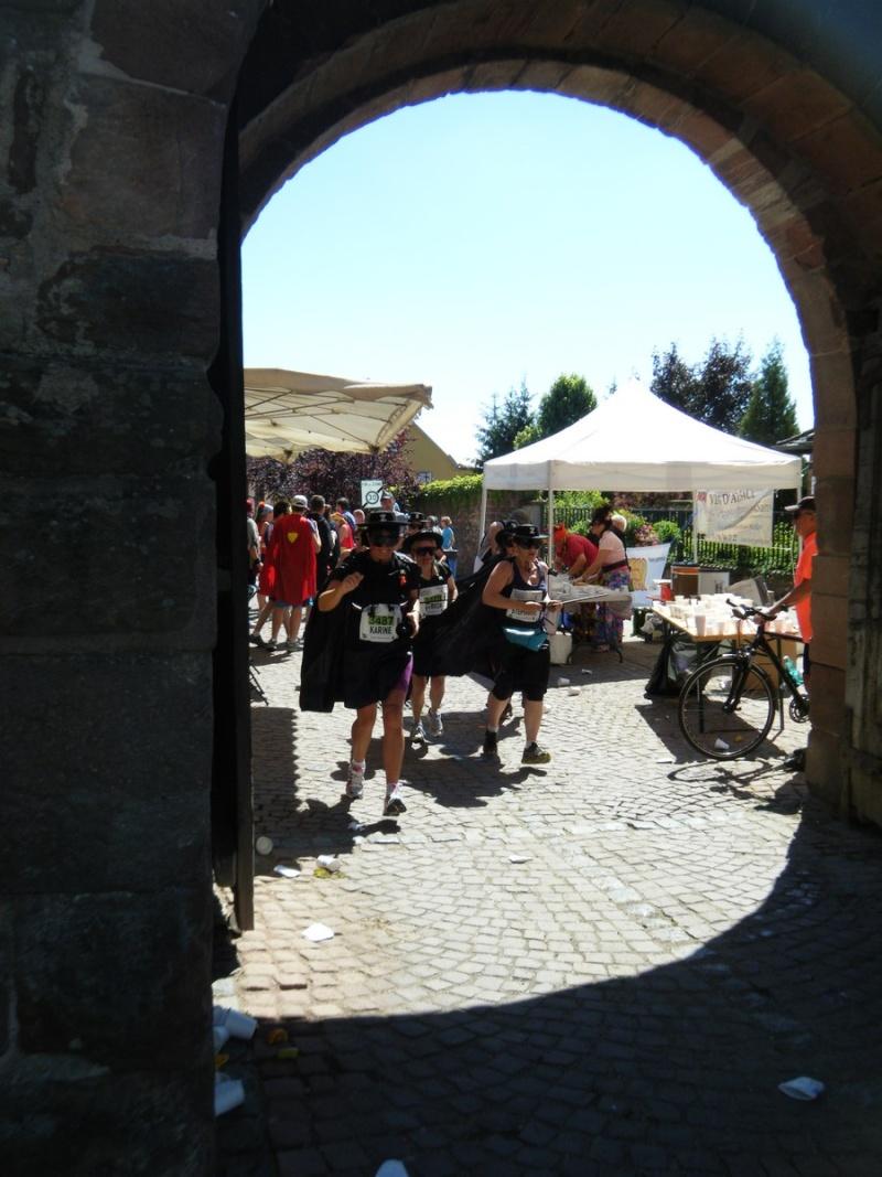 10 ème édition du Marathon du Vignoble d'Alsace et son passage à Wangen le 15 juin 2014 Dscf1119