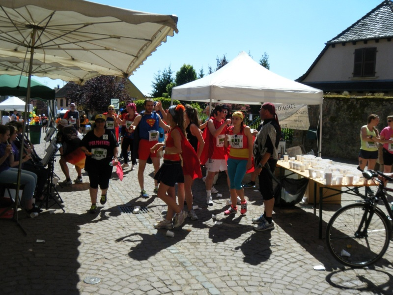 10 ème édition du Marathon du Vignoble d'Alsace et son passage à Wangen le 15 juin 2014 Dscf1120