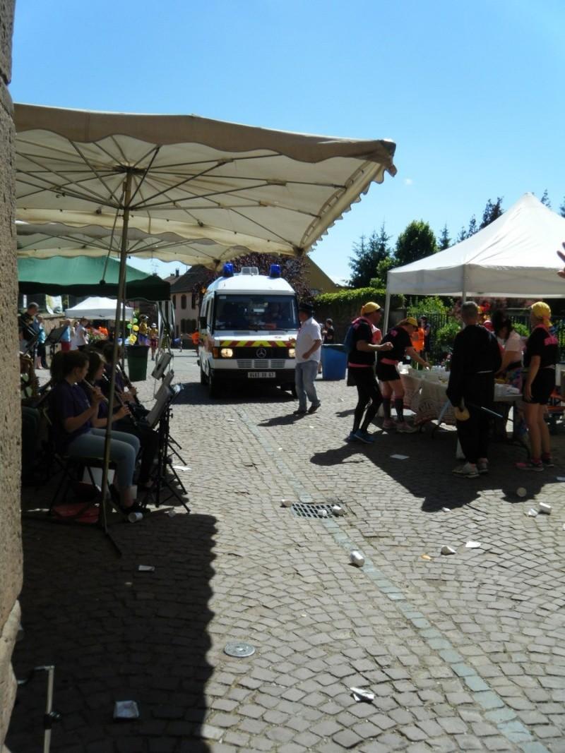 10 ème édition du Marathon du Vignoble d'Alsace et son passage à Wangen le 15 juin 2014 Dscf1122