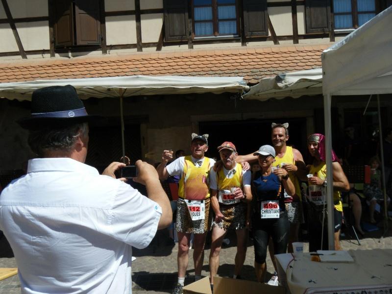 10 ème édition du Marathon du Vignoble d'Alsace et son passage à Wangen le 15 juin 2014 Dscf1219