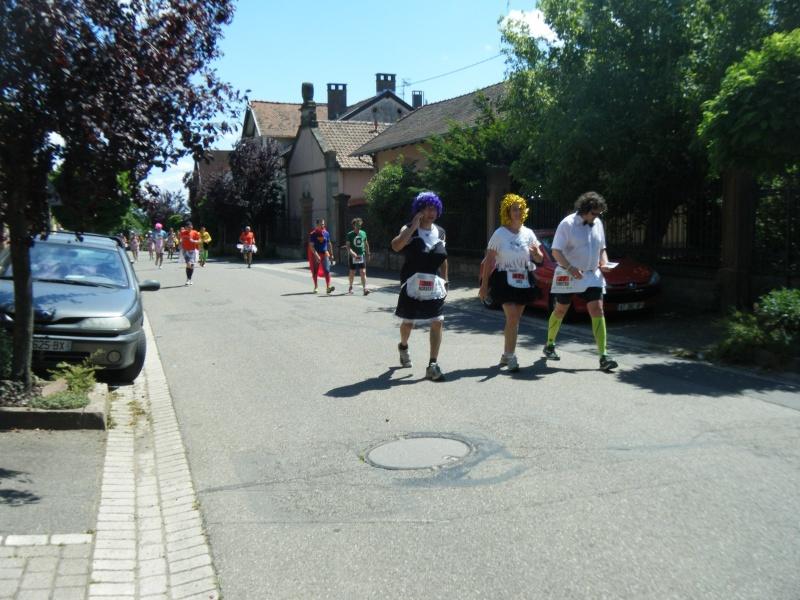 10 ème édition du Marathon du Vignoble d'Alsace et son passage à Wangen le 15 juin 2014 Dscf1224