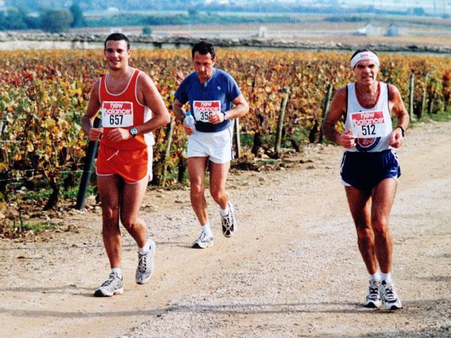 10 ème édition du Marathon du Vignoble d'Alsace et son passage à Wangen le 15 juin 2014 Franco10