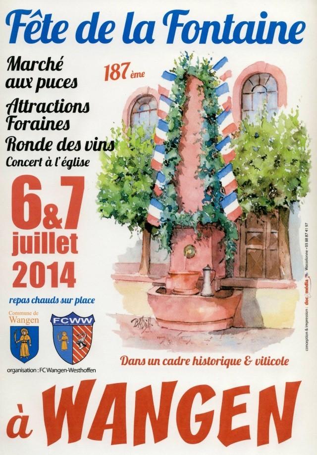 187 ème Fête de la Fontaine à Wangen les 6 & 7 juillet 2014 Image017