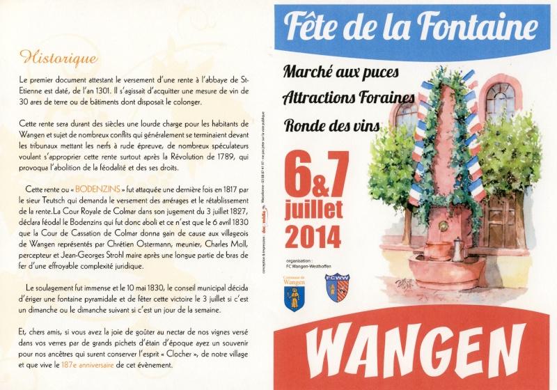 187 ème Fête de la Fontaine à Wangen les 6 & 7 juillet 2014 Image019
