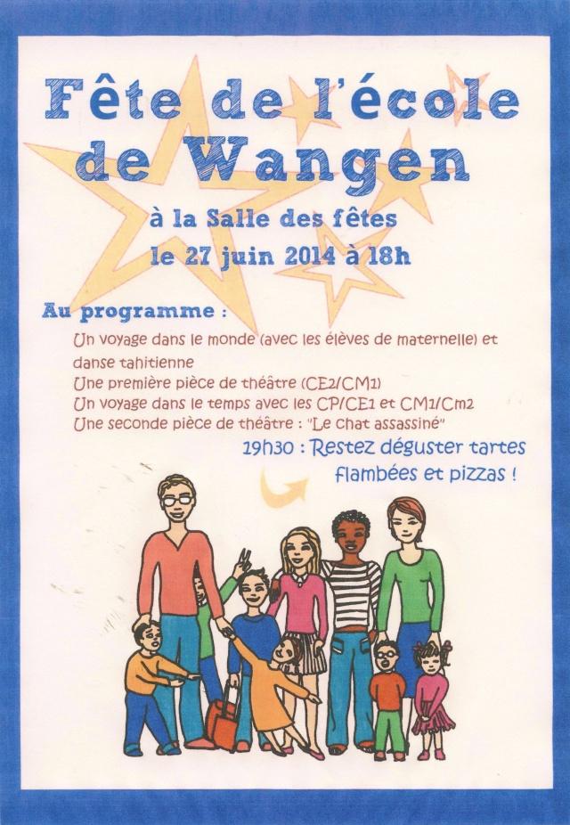 Fête de l'école de Wangen, vendredi 27 juin 2014 à 18h salle des fêtes. Image026