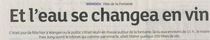 187 ème Fête de la Fontaine à Wangen les 6 & 7 juillet 2014 Image033