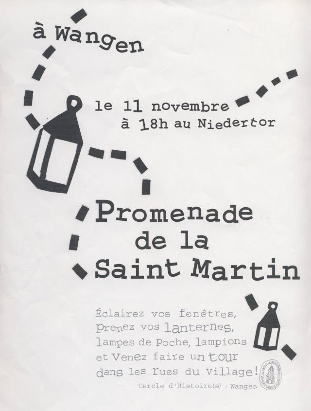 Promenade de la Saint Martin le 11 novembre 2014 à 18h devant le Niedertor de Wangen Image210
