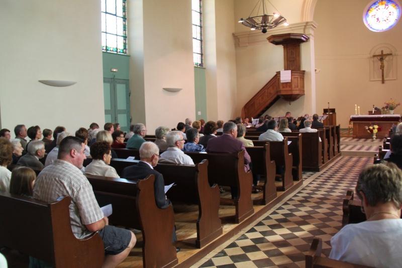800 ème anniversaire du tympan de l'église simultanée de Wangen,dimanche 7 septembre 2014 Img_2028