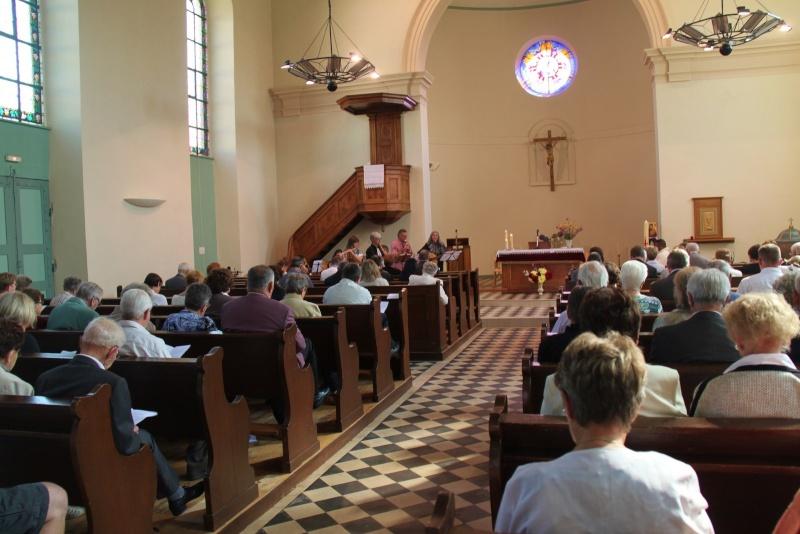 800 ème anniversaire du tympan de l'église simultanée de Wangen,dimanche 7 septembre 2014 Img_2113