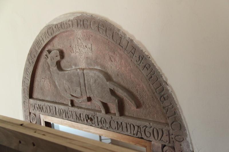 800 ème anniversaire du tympan de l'église simultanée de Wangen,dimanche 7 septembre 2014 Tympan13