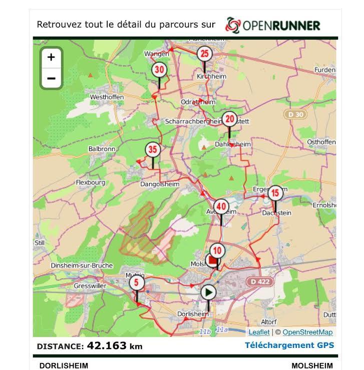 10 ème édition du Marathon du Vignoble d'Alsace et son passage à Wangen le 15 juin 2014 Unname13