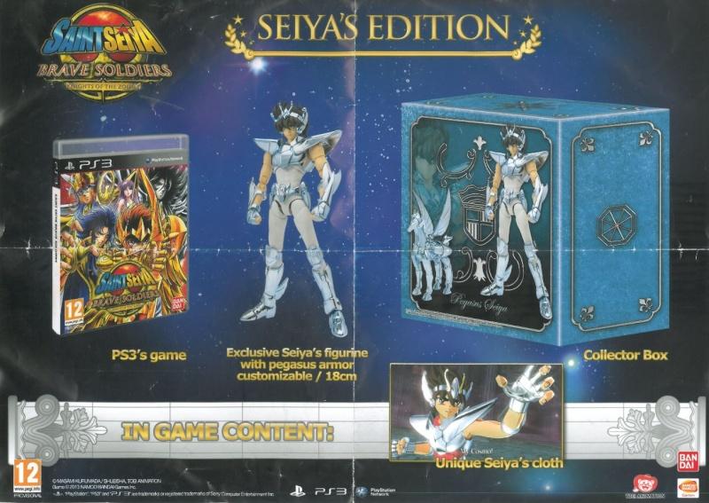 [PS3] Saint Seiya : Brave Soldier (Novembre 2013) Affich11
