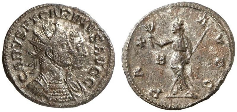Carus - Carinus - Numerien et Sol sur une même monnaie 13071510