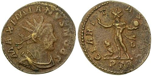 Aureliani pour Trèves de Dioclétien et de ses corégents  - Page 2 2808711