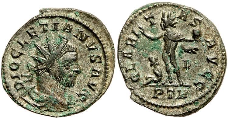 Aureliani pour Trèves de Dioclétien et de ses corégents  - Page 2 79056410