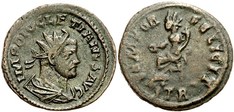 Aureliani pour Trèves de Dioclétien et de ses corégents  - Page 2 79056610