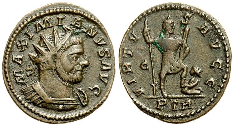 Aureliani pour Trèves de Dioclétien et de ses corégents  - Page 2 79056810