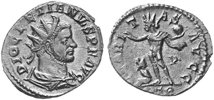 Aureliani pour Trèves de Dioclétien et de ses corégents  - Page 2 8919610