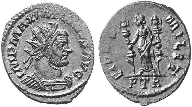 Aureliani pour Trèves de Dioclétien et de ses corégents  - Page 2 8920710