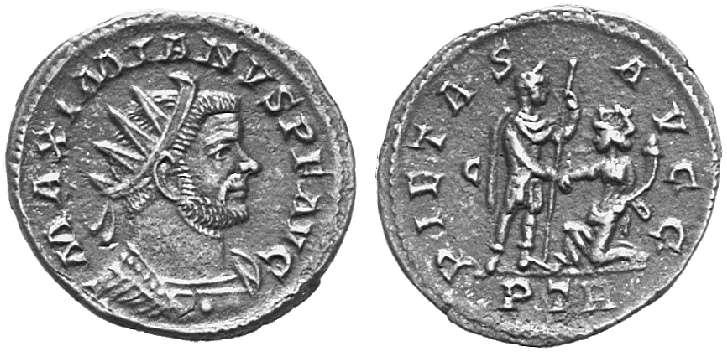 Aureliani pour Trèves de Dioclétien et de ses corégents  - Page 2 8920810