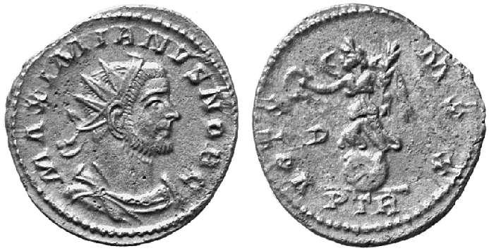 Aureliani pour Trèves de Dioclétien et de ses corégents  - Page 2 8922210