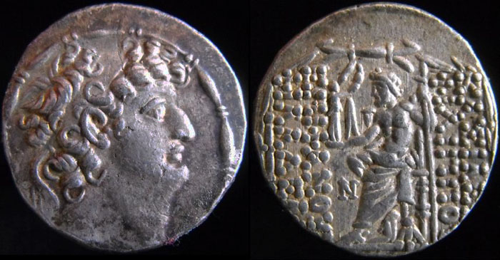 Les monnaies Grecques de PYL Antioc10