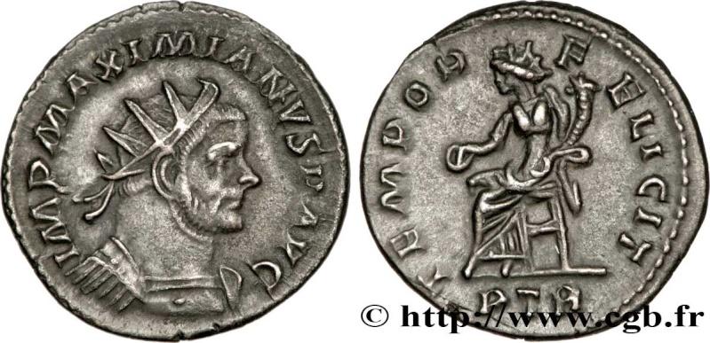 Aureliani pour Trèves de Dioclétien et de ses corégents  - Page 2 Brm_2610