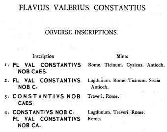 Aureliani pour Trèves de Dioclétien et de ses corégents  - Page 2 Consta15