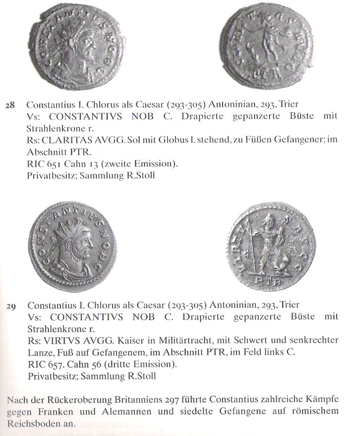 Aureliani pour Trèves de Dioclétien et de ses corégents  - Page 2 Consta17