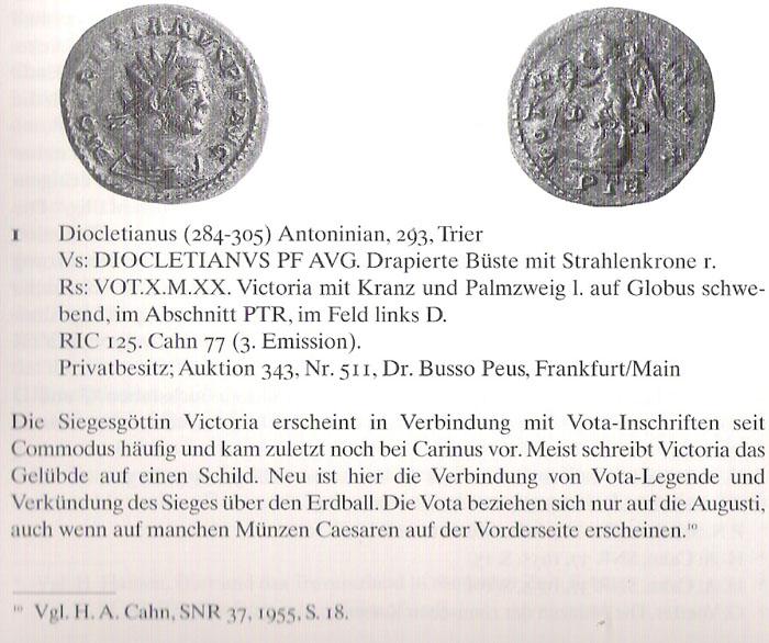 Aureliani pour Trèves de Dioclétien et de ses corégents  - Page 2 Diocle16