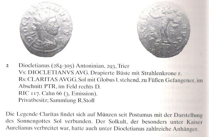 Aureliani pour Trèves de Dioclétien et de ses corégents  - Page 2 Diocle17