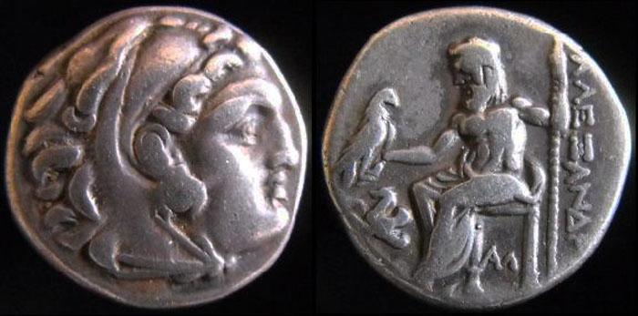 Les monnaies Grecques de PYL Drachm10