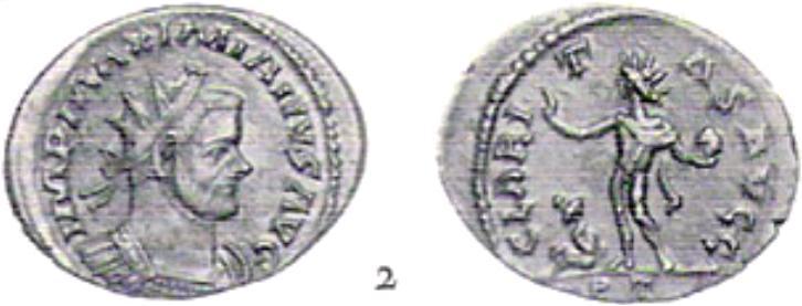 Aureliani pour Trèves de Dioclétien et de ses corégents  - Page 2 Maximi18