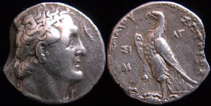 Les monnaies Grecques de PYL Ptolem10