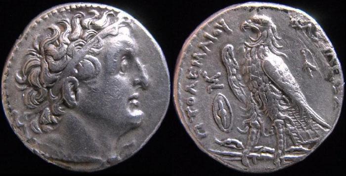 Les monnaies Grecques de PYL Ptolem11