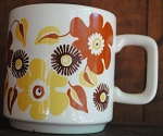 3034 Fluted Base mug with 3036 Handle 303610