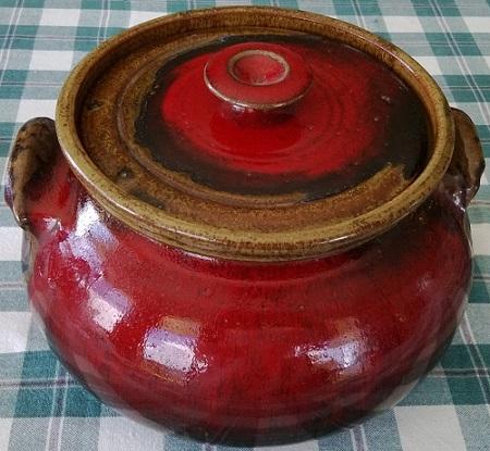 Coromandel red casserole Coroma10