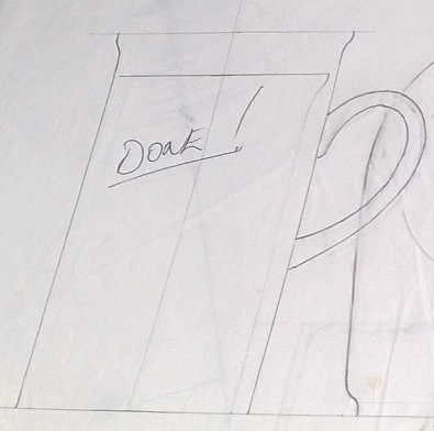 Modellers drawings of mugs to be identified ... E10