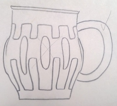 Modellers drawings of mugs to be identified ... F10