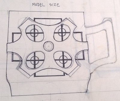 Modellers drawings of mugs to be identified ... I10