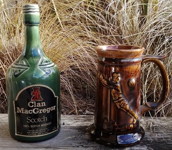 Kermiko World Cup tankard and Liqueur Bottle Kermik10