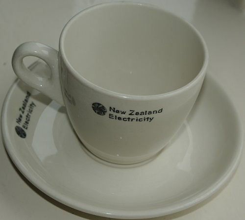 New Zealand Electricity Cup & Saucer New_ze10