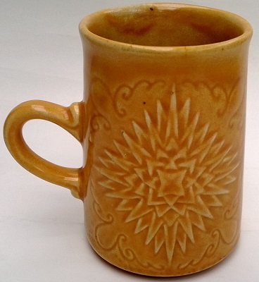 1133 Rayed - Star Mug in Orange ! Orange10