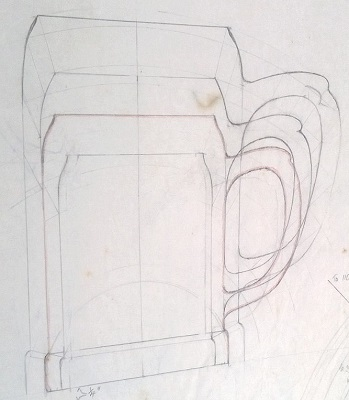 Modellers drawings of mugs to be identified ... P10